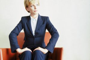 Seated Businesswoman