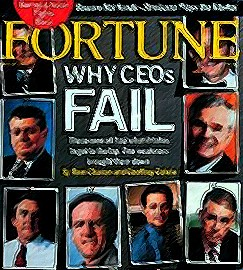 why CEO's fail